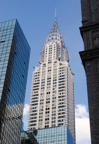 Chrysler Building NYC - Built with Stainless Steel